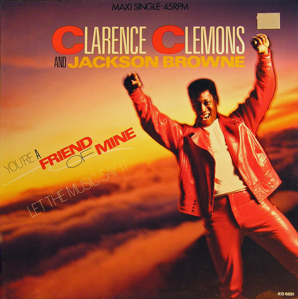 "The Late Clarence Clemons And The ""You're A Friend Of Mine"" video"