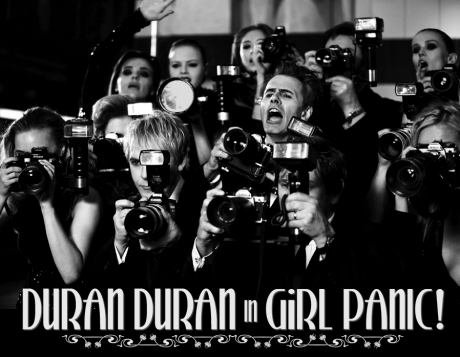 "EXCLUSIVE! Director Jonas Akerlund Talks About Shooting Duran Duran's New Supermodel-Packed ""Girl Panic!"" Video"