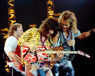 So let's take a look at two Van Halen videos, both with the same ...