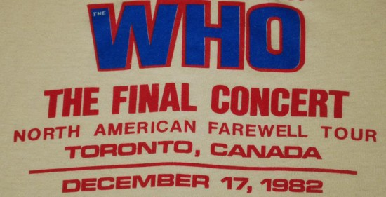 FLASHBACK: Video Interviews For The Who Farewell Tour 1982