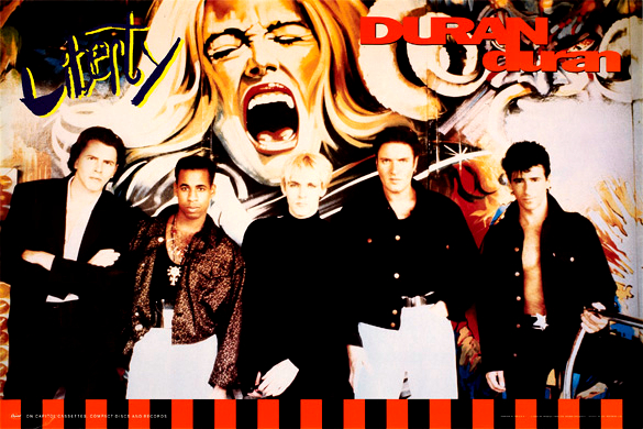 Watch Duran Duran's LIBERTY Album EPK from 1990