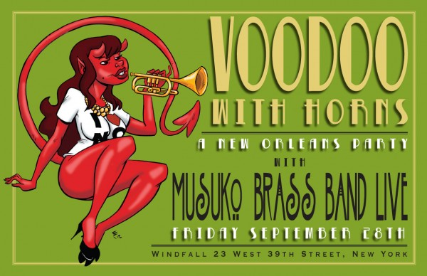 "SPECIAL EVENT: ""Voodoo With Horns"" Will Celebrate New Orleans in Midtown NYC"