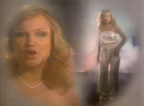 "A Face For Radio: Samantha Sang in the ""Emotion"" Video"
