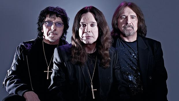 And to think only ONE of them is named Geezer: Tommy Iommi, Ozzy Osbourne and Geezer Butler of Black Sabbath. Bill Ward sat this one out.
