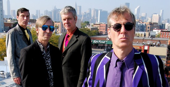 The Fleshtones today, with Peter Zaremba second from right
