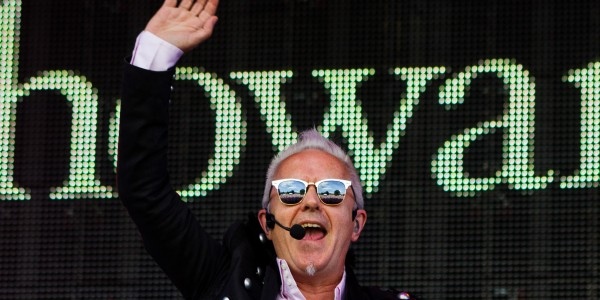 Howard Jones plays at the sold-out Rewind Festival.  Picture: Universal News And Sport (Scotland)