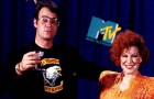 Dan Ackroyd & Bette Midler hosted the very first VMAs 30 years ago in 1984, a fact completely skipped over by MTV