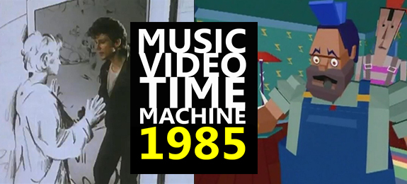 Don't Miss the Launch of MUSIC VIDEO TIME MACHINE — We're Heading for 1985, Doc!