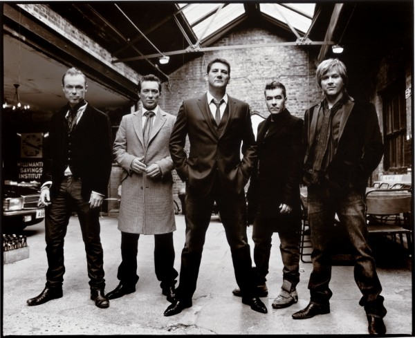 The band today. Spandau Ballet play the Beacon Theater in New York on May 2nd.