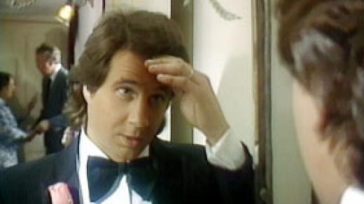 "Greg Kihn in The Greg Kihn Band's ""Jeopardy"" video"