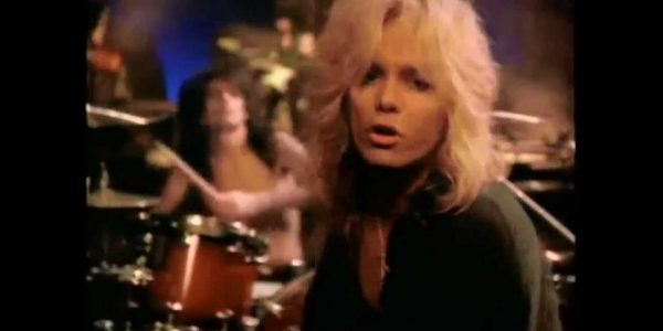 "Vince Neil's most Farrah-like hairstyle is a highlight of Motley Crue's 'Without You"" video"