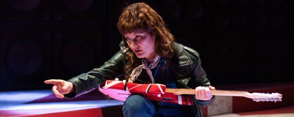 Playwright Amy Staats also plays Eddie Van Halen